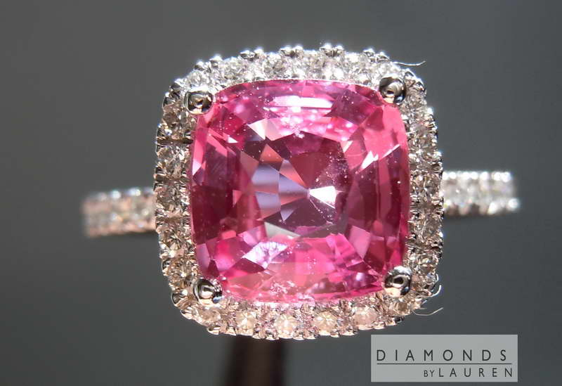 loose pink sapphire