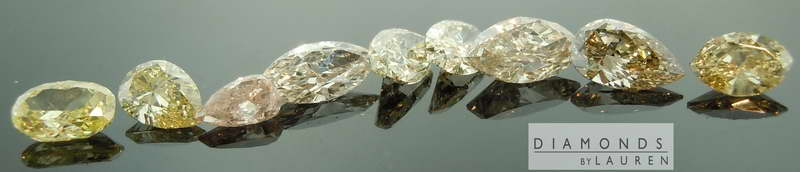 loose diamond parcel