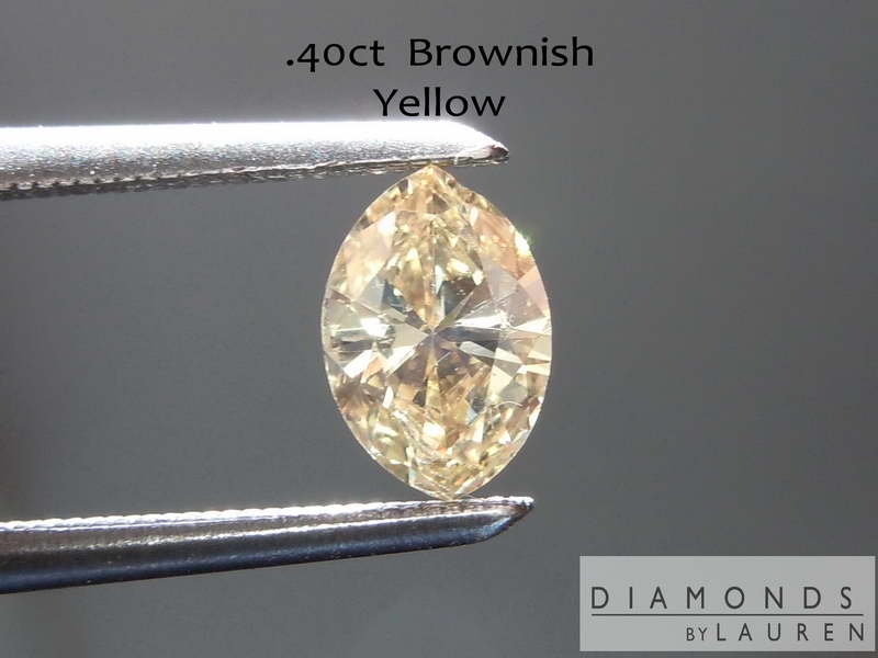 brownish yellow diamond