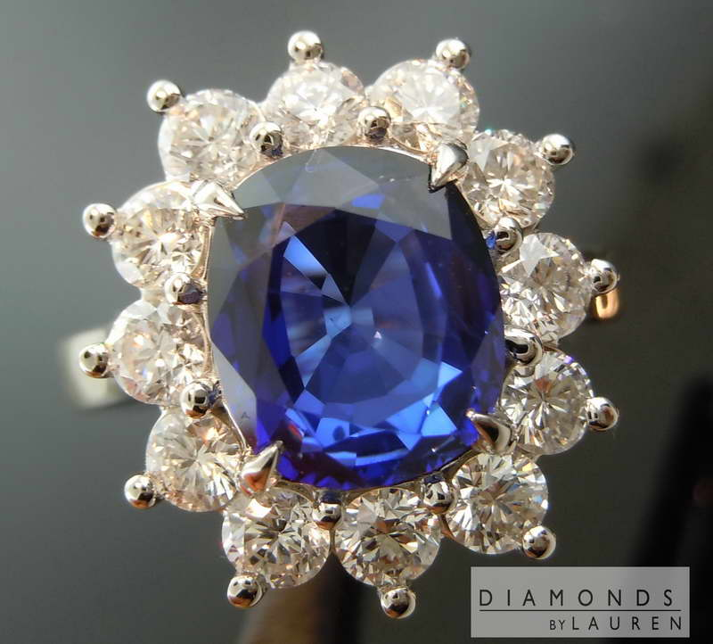 sapphire and diamond ring