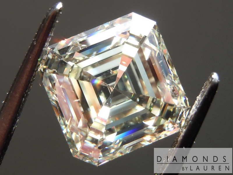 4 52ct U V Vs1 Asscher Cut Diamond