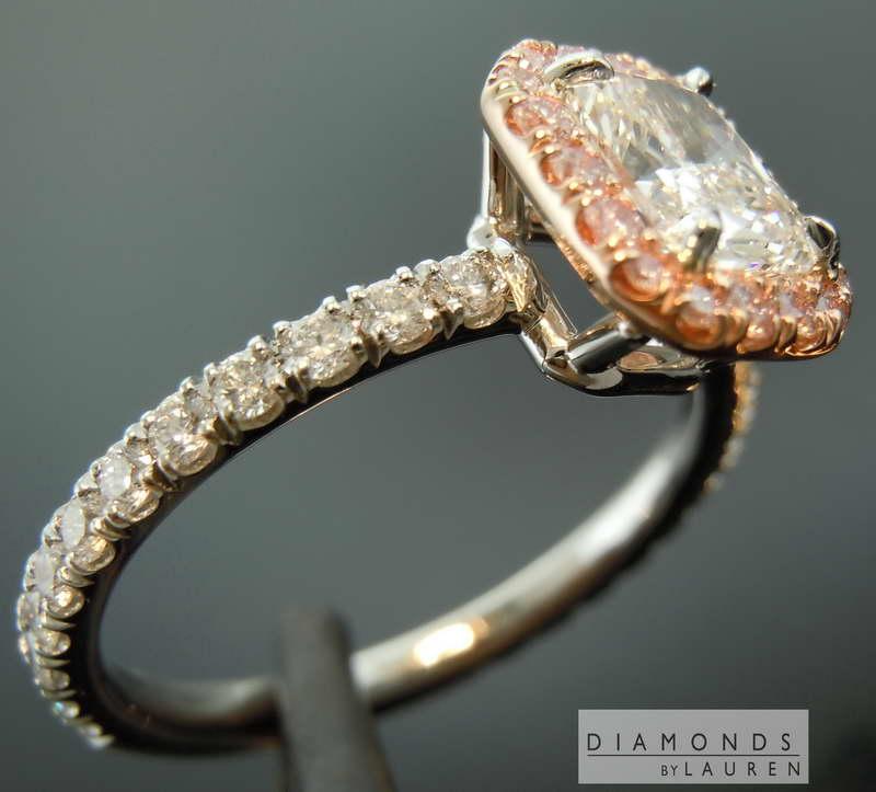 colorelss diamond ring