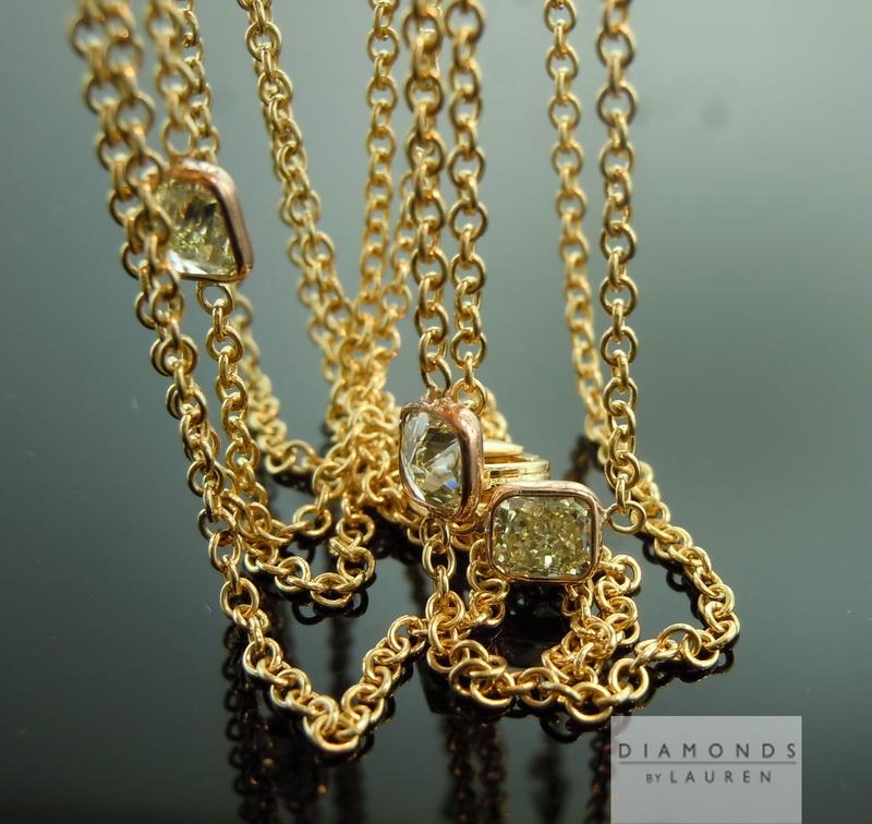 canary diamond necklace