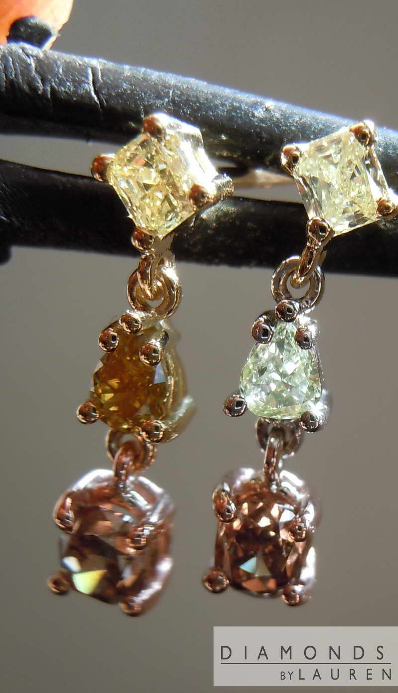 carnary earrings