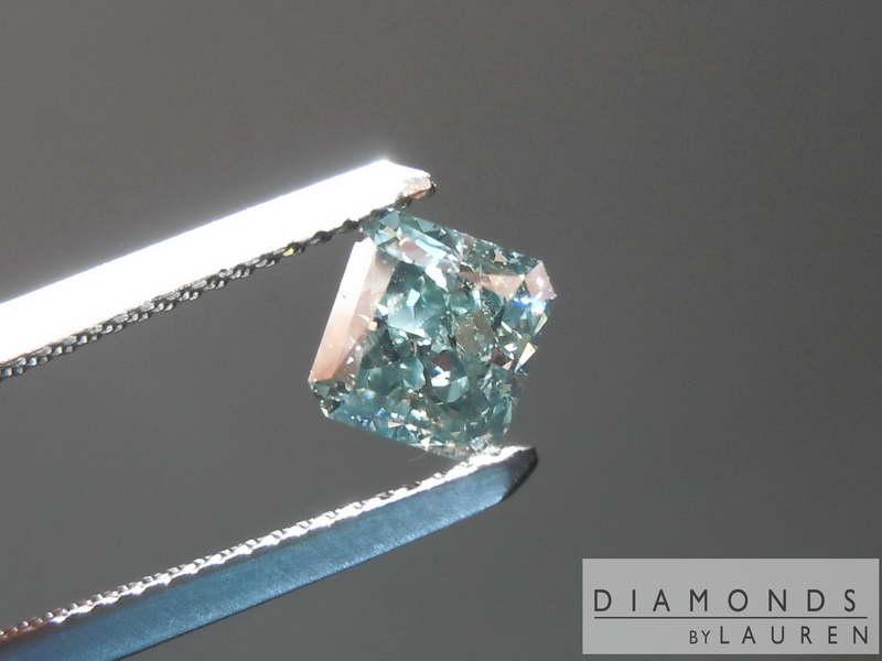 natural gray diamond