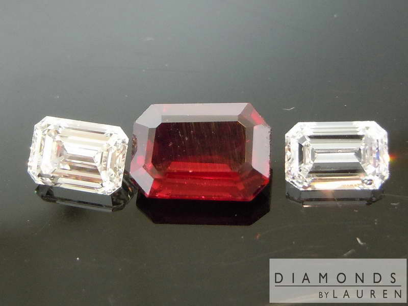 natural ruby diamond ring