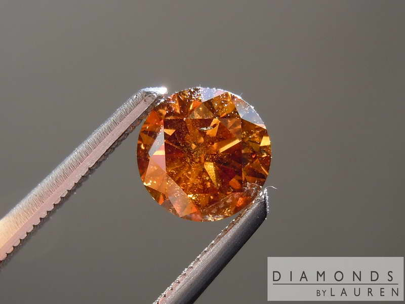 gia orange diamond