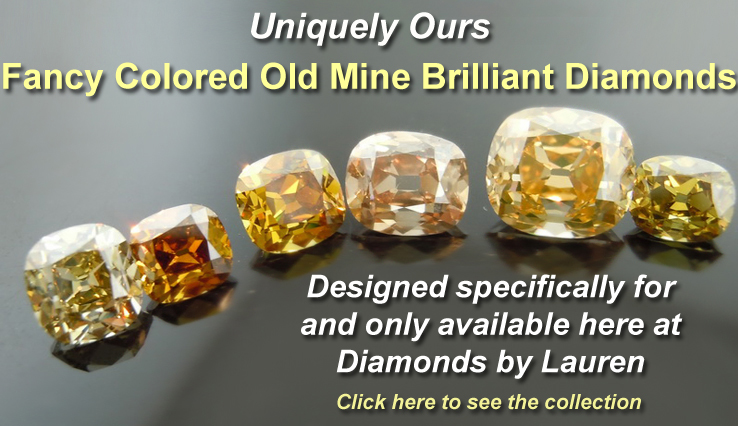 "Branded ""DBL"" Old Mine Brilliants"