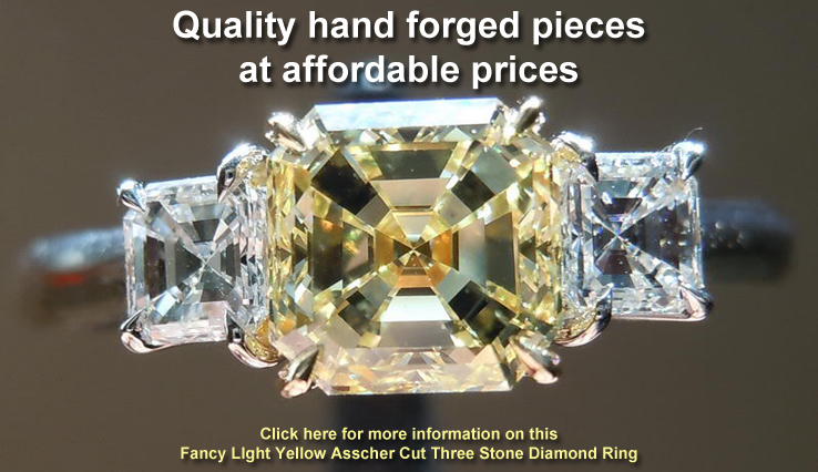 yellow asscher cut diamond