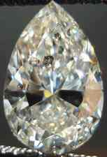 SOLD....Loose Diamond: 2.19carat Budget Pear Diamond GIA Incredibly Well Cut R2355