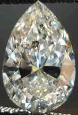 SOLD....Loose Diamond: 2.19carat Budget Pear Diamond GIA Incredibly Well Cut R2355