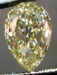 SOLD....Loose Diamond: Dazzling Fancy Yellow Pear Shape GIA Great color and cut R2436