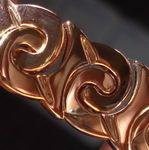 Bracelet: Navajo Rain Symbol Pink Gold SO2845