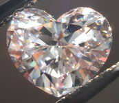 SOLD......Loose Diamond; Light Pinkish Brown VS2 1.01ct Heart Diamond GIA report R2867