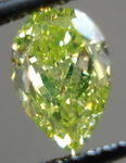 SOLD...Loose Diamond: 1.16ct Fancy Intense Green-Yellow VVs2 Pear Shape Diamond GIA Report R2973