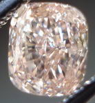 SOLD....Loose Diamond: .68ct Fancy Brown-Pink VS2 Cushion Diamond Pink Dazzle.GIA R2987