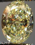 SOLD.....Loose Diamond: 1.34ct Fancy Yellow VVS2 Oval Diamond GIA report R2966