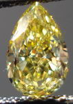 SOLD.....Loose Diamond: .54ct Fancy Intense Yellow VVS2 Pear Shape Diamond GIA Report R3003