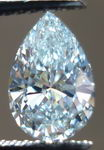 SOLD......Loose Diamond: 1.18ct Very Light Green Pear Diamond GIA looks Blue VS1 R3020