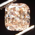 SOLD...Loose Diamond: .81ct Fancy Pink-Brown Cushion GIA Diamond R3024