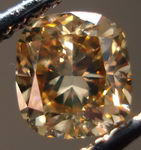 SOLD.....Loose Diamond: .89ct Natural Brown Diamond in Unusual Nice Cushion Cut R3026