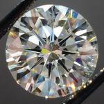 Loose Diamond: 3.61 Round L/Si1 Triple EX Cut Grade Diamond GIA R3061