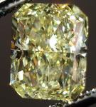 SOLD....Loose Diamond: 3.02ct Fancy Yellow Radiant Diamond. Substantial GIA R3091