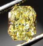 SOLD....Loose Diamond: .73ct Fancy Intense Yellow Radiant Diamond GIA R3098