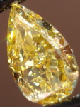 SOLD.....Loose Diamond: 1.01ct Fancy Intense Orangy Yellow Pear Shape Diamond GIA R3129