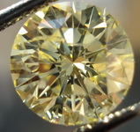 SOLD....Loose Diamond: 2.20 Fancy Yellow Round Diamond Great I1 Great Price R3158