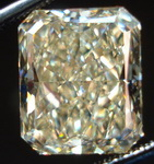 SOLD.....Loose Yellow Diamond: 5.35ct  Y-Z Radiant Diamond MASSIVE awesome cut GIA R3159