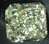 SOLD.....Loose Yellow Diamond: 6.15ct U-V Faint Yellow Radaint Diamond GIA R3167
