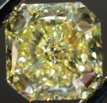 SOLD.....Loose Diamond: 1.91ct Fancy Yellow SI1 GIA Circle in a a Square Radiant Diamond R3168