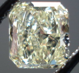 SOLD.......Loose Diamond:.80 W-X GIA Radiant Light Yellow R3253