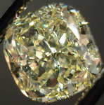 SOLD.....Loose Diamond: .1.62ct Fancy Light Yellow VVS2 Cushion Diamond Lemon Sparkle R3284
