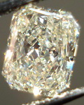 SOLD....Loose Diamond: 1.06 Light Yellow Radiant Diamond Great Value R3367