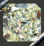 SOLD.....Loose Diamond: 1.00 Y-Z Radiant Diamond GIA Slightly Asymmetrical and NICE R3375