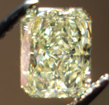 SOLD....Loose Diamond: 1.01ct Fancy Yellow Radiant SI1 GIA Sparkling Lemonade R3454
