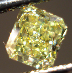 SOLD....Loose Diamond: .74ct Fancy Intense Yellow Radiant VS2 GIA Vibrant! R3468
