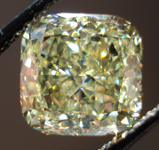 SOLD....Loose Diamond: 2.01ct Fancy Yellow Cushion VVS1 GIA Simply Stunning R3475