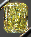 SOLD....Loose Diamond: .76 Fancy Intense Yellow Radiant Diamond SI2 GIA Great Value R3507