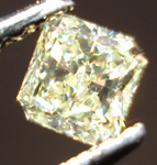 SOLD...Loose Diamond: .29ct Fancy Yellow Radiant Cut Diamond Lovely Shape R3443