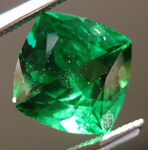 SOLD....Loose Tsavorite Garnet: Precision Cut 2.13ct Tsavorite Square Antique Cut Vibrant Green Color R3536