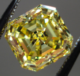 SOLD.....Loose Diamond: 2.21ct Emerald Cut Fancy Vivid Yellow SI2 Diamond GIA Amazing Stone R3557