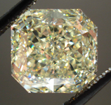 SOLD....Loose Diamond: 4.16ct Radiant Cut Fancy Light Yellow VS2 GIA WOW!! R3567