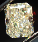 SOLD....Loose Diamond: 4.06ct Radiant Cut U-V, Natual Light Yellow SI1 Diamond GIA Gorgeous Sparkle R3575