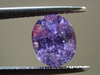 SOLD.....Loose Sapphire: Precision Cut 2.26ct Purple Sapphire Oval Shape Lovely Color R3539