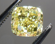 SOLD.....Loose Diamond: .74ct Cushion Cut Fancy Intense Yellow VS2 GIA WOW!! R3588