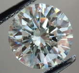 SOLD....Loose Diamond: 2.30ct M color Round Brilliant- beautiful cut desirable size R3611