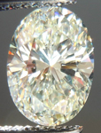SOLD.....Loose Diamond: 1.84ct Oval Shape O-P VS2 Beautiful Brilliance R3615
